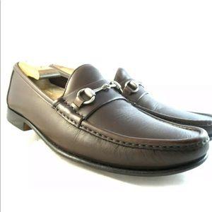 """Allen Edmonds """"Verona II"""" Brown loafers 10 D Mens"""